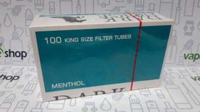 Гильзы сигаретные Dark Horse Carbon с фильтром 100 шт